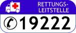 Retungswagen / Retungsleitstelle 19222